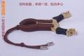 清仓价神箭战旗630钛金版铜套弓眼反曲球卡六股弹弓